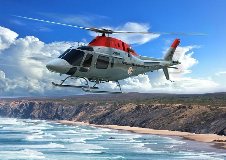 O helicóptero ainda está equipado com um trem de aterragem do tipo 'patins', com capacidade de instalação de flutuadores para ambiente marítimo.
