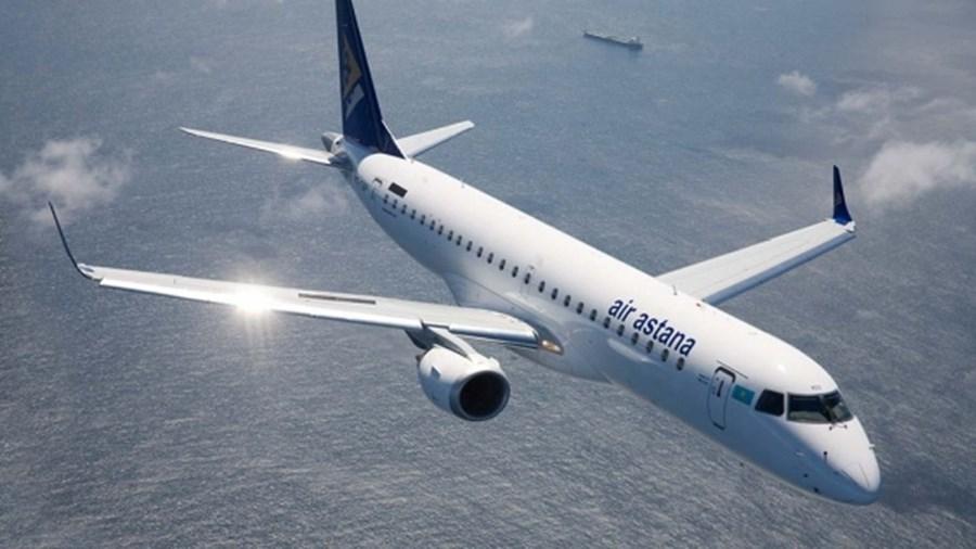 Avião da Air Astana