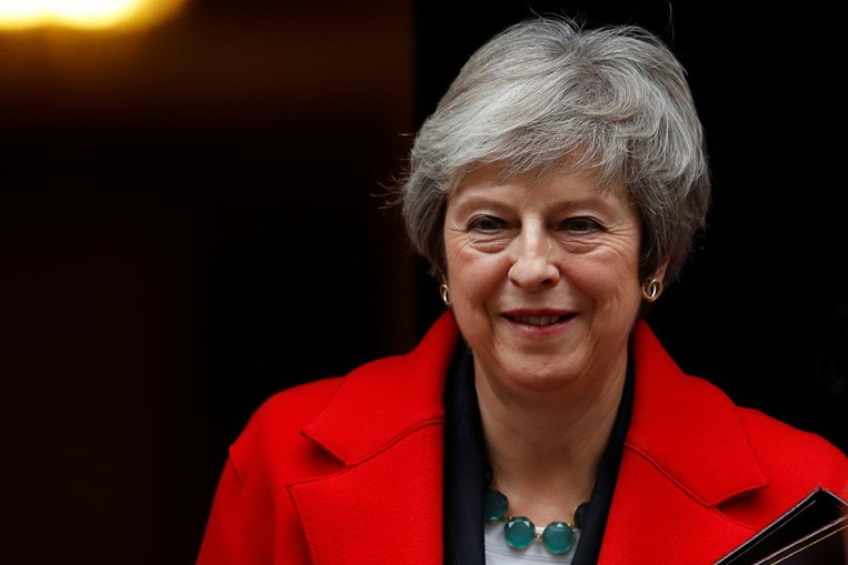A PM britânica, Theresa May