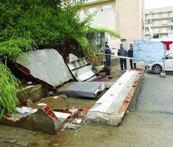 Muro que matou estudantes da Universidade do Minho