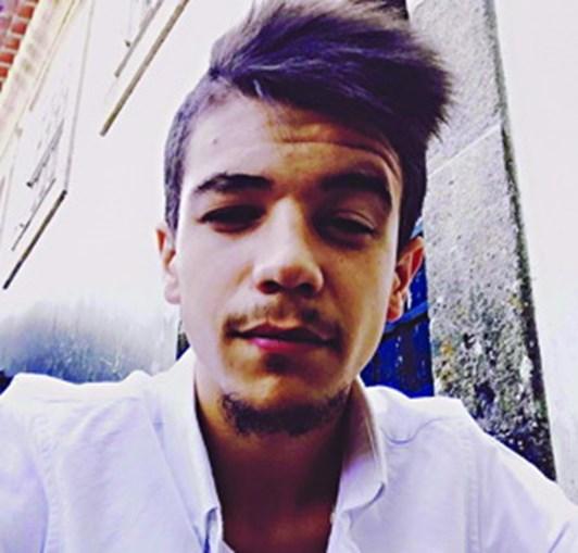 Luís Rodrigues, de 21 anos, foi assassinado com uma facada no pescoço