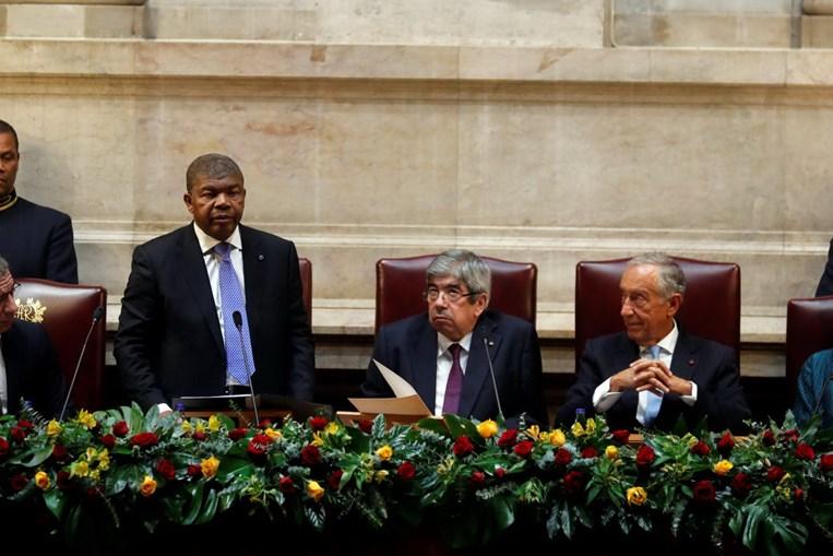 João Lourenço, presidente de Angola, discursou no parlamento português