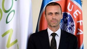Presidente da UEFA reage à saída do Manchester City da Superliga europeia