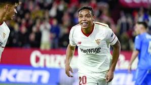 Avançado Luis Muriel rejeita Sporting
