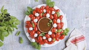 Festas com sabor e cor à mesa