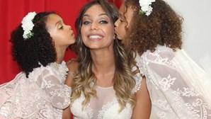 Luciana Abreu afasta as filhas de Djaló no regresso a Portugal