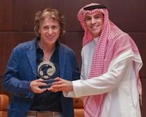 O treinador Jorge Jesus na Arábia Saudita