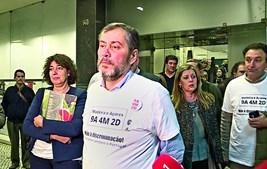 """Mário Nogueira  diz que o Governo """"vai sofrer"""" em 2019 com a guerra que os sindicatos preparam para recuperar o tempo de serviço"""