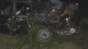 Carro cai em ravina em Gondomar e fere dois irmãos