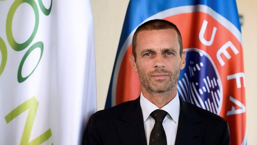 Aleksander Ceferin, presidente da UEFA