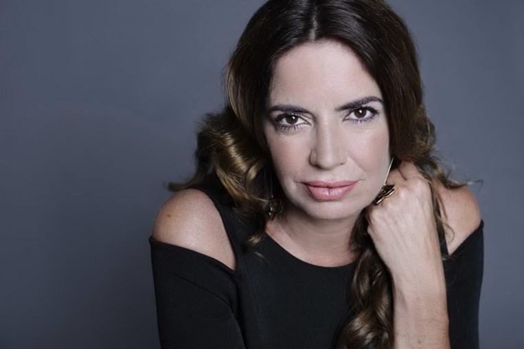 A apresentadora Bárbara Guimarães