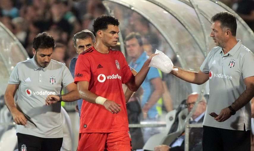 Pepe ao serviço do Besiktas
