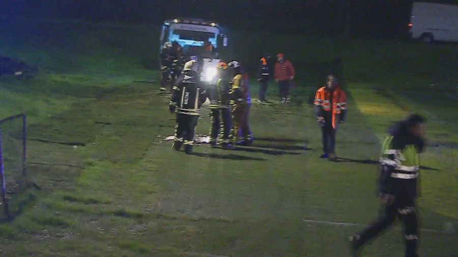 Helicóptero do INEM cai em Valongo