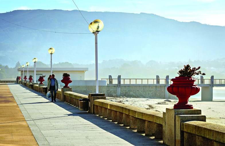 Praia de Vila Praia de Âncora é um dos pontos de grande atração