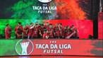 Benfica vence Sp. Braga por 3-0 e revalida título na Taça da Liga de futsal