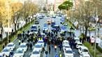 Protesto de taxistas causa caos em Madrid