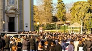 Emoção e aplausos no último adeus a Bastinhas em Elvas