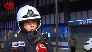 Fogo em bar do centro do Porto assusta clientes e moradores