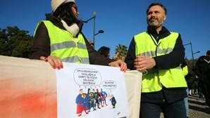 'Coletes Amarelos' em Lisboa e no Porto desmobilizam sem registo de incidentes
