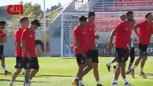 Bruno Lage estreia-se no comando técnico do Benfica frente ao Rio Ave