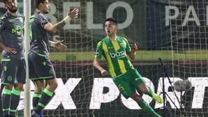 Leão perde com o Tondela e fica atrás do Benfica