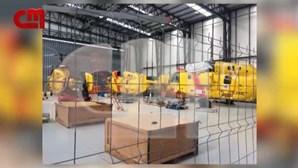 Helicópteros Kamov abandonados em hangar em Ponte de Sor enquanto País ardia