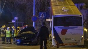 Local do violento acidente de autocarros em Matosinhos teve 27 acidentes entre 2009 e 2017
