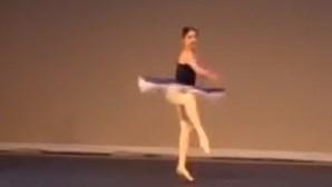 Bailarina portuguesa de 12 anos vence três medalhas de ouro em concurso de dança nos EUA