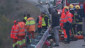 Seis feridos em despiste de carrinha na A1 entre Leiria e Pombal