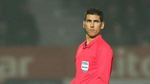 Árbitro Fábio Veríssimo afastado após polémica no clássico da Taça da Liga