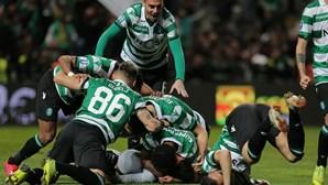 Sporting volta a ganhar nos penáltis e está na final da Taça da Liga