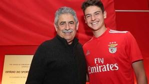 Filho de Domingos Paciência junta-se ao de Sérgio Conceição no Benfica