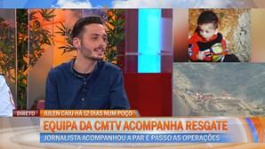 Equipa da CMTV em Málaga