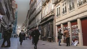 Rua das Flores, uma artéria do Porto cheia de vida