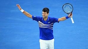 Novak Djokovic a 'solo' procura fazer história no US Open em Nova Iorque