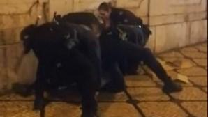 Turistas filmam detenção violenta da PSP por tráfico de droga em Lisboa