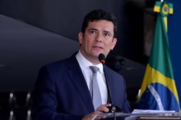 Sérgio Moro toma posse como ministro da Justiça