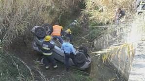 Mulher gravemente ferida em despiste na estrada de Moura