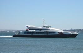 O catamaran Castelo, da Transtejo Soflusa