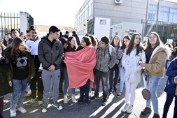 Frio na escola leva alunos a fazer greve em Belmonte