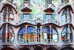Casa Batlló é uma das mais  impressionantes obras de Antoni Gaudí