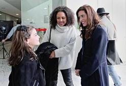 Francisca Salgado, Jacira Araújo e Anabela Teixeira
