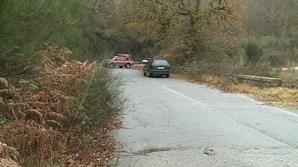 Corpo de homem encontrado em carro incendiado em Vieira do Minho