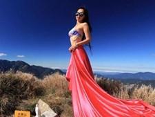 Gigi Wu era conhecida como 'Alpinista do Biquini'