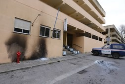 Esquadra da PSP de Setúbal atacada com cocktails molotov