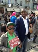 Mamadou Ba, assessor do Bloco de Esquerda e dirigente da SOS Racismo