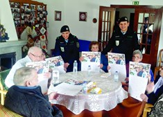 GNR visitou idosos na Guarda