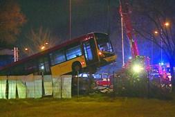 Autocarro da Valpi terá ficado sem travões