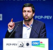 João Ferreira é candidato da CDU