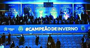 """O Benfica criticou o facto de o símbolo do clube ter sido esquecido na final. """"Falta de respeito"""""""